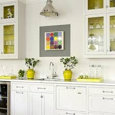 white and yellow kitchen ideas yellow cabinets design ideas