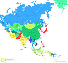 Blank Map Of The Asia by Asia Asian Continent Outline Map And Map Of Asian Continent