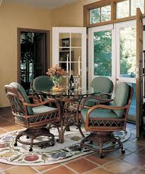 interior home ideas leather dining room chairs with casters on creative