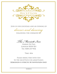 doc 585779 reception invitation templates free u2013 20 wedding