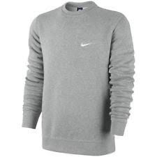 nike pullover sweater nike brushed crew sweatshirt sweater jumper pullover leisure