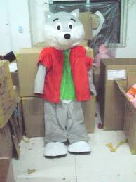Mascot Costumes Halloween Compare Prices Mascot Costume Wolf Shopping Buy