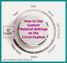 How To Weld In Cricut Craft Room - video how to use custom settings on cricut explore design space