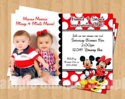 mickey mouse twins etsy