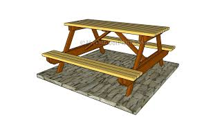 Free Wooden Picnic Table Plans by Octagon Picnic Table Plans Myoutdoorplans Free Woodworking