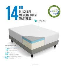Super King Size Bed Dimensions Amazon Com Lucid 14 Inch Plush Memory Foam Mattress Ventilated
