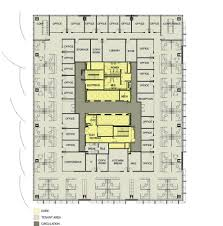 office tower floor plan edith green wendell wyatt federal building modernization in