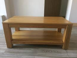 Solid Oak Coffee Table Solid Oak Coffee Table In Muxton Shropshire Gumtree