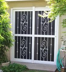 Screen For Patio Door Security Screen Doors For Entry Patio Door Security