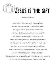 writing activity my gift to jesus letters to jesus
