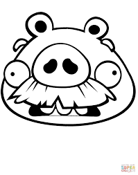 angry birds pigs coloring pages printable coloring sheets
