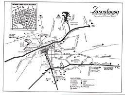 Alabama City Map Tuscaloosa Map Tuscaloosa Al U2022 Mappery