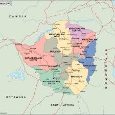 Zimbabwe Map Zimbabwe Political Map Vector Eps Maps Eps Illustrator Map Our