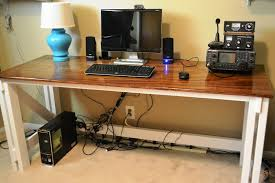 Diy Corner Desk Plans by Diy L Shaped Desk Plan And Guide At Modestly Handmade Interior