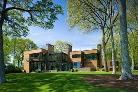 Building A House In Ct A Secluded Contemporary Connecticut Home Among The Trees