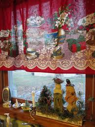 interior christmas cafe curtains kitchen room curtains kitchen