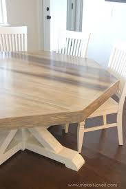 Homemade Kitchen Table by Captivating 10 Farmhouse Dining Room 2017 Inspiration Of 37 Best