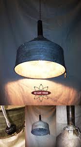 Swag Lighting Ideas by Repurposed Metal Funnel Swag Lamp Decor Pinterest Repurposed