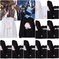 twice 1st world tour u0027twiceland u0027 09 member name sweatshirt sweater