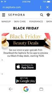 sephora black friday sale do sephora ulta have black friday sales beautylish