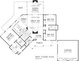 Donald Gardner Floor Plans Home Plan The Evergreen By Donald A Gardner Architects