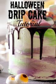 Halloween Cakes Uk by Halloween Drip Cake Tutorial Sweetie Darling Cakessweetie