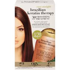 ogx ever straight brazilian keratin therapy 30 day treatment
