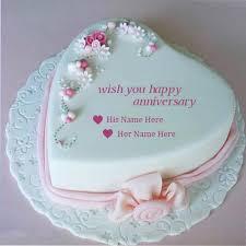 wedding cake name wedding anniversary wishes cake images with name