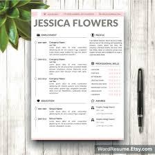 creative resume word template template creative resume word template professional set