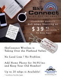 Radio Tower For Internet Montana Sky Networks