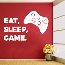 compare prices on childrens furniture bedroom online shopping buy xbox eat sleep game vinyl wall sticker art decal childrens bedroom gaming room free shipping