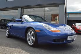 Porsche Boxster Blue - second hand porsche boxster 2 7 2dr truly stunning for sale in