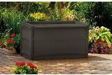 Suncast Patio Storage Bench Suncast Storage Ebay