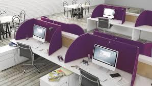 separateur bureau séparateur de bureau sur plan en tissu insonorisé modulable