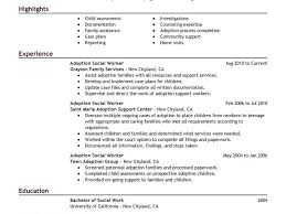 Social Worker Resumes Samples by Social Work Resume Examples Resume Cv Cover Letter