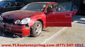 used lexus gs300 parts parting out 1999 lexus gs 300 stock 3116pr tls auto recycling