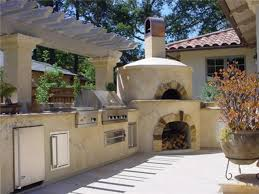 landscaping kits outdoor fireplace with pizza oven kits pizza