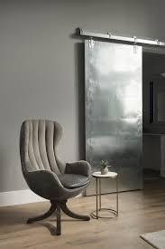 Gray Modern Bedroom Gray Velvet Channel Tufted Chair Modern Bedroom