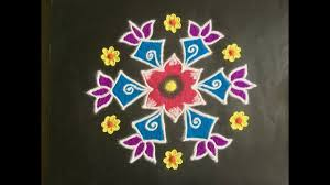 45 kolam designs for festivals simple kolam designs with dots 9x5 and colours for festivals
