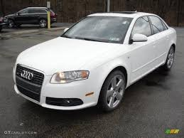 white audi sedan audi a4 2008 white
