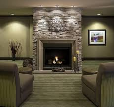 modern stacked stone fireplace perfect faux stacked stone for