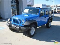 Jeep Wrangler Sport S Interior 2012 Cosmos Blue Jeep Wrangler Unlimited Sport S 4x4 57095183