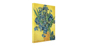 image gallery of van gogh irises vase