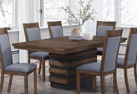 coaster octavia rectangular dining table with leaf coffee sappy