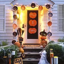 halloween front doors cool front door halloween decor with webs