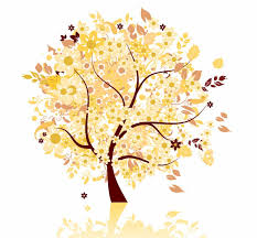 abstract autumn tree vector graphic free vector graphics all