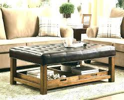 Espresso Ottoman Coffee Table Espresso Ottoman Coffee Table Leather Coffee Tables Coffee Tables