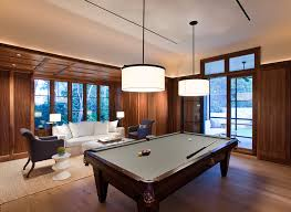 Pool Table Ceiling Lights Contemporary Pool Table Lights Family Room Traditional With
