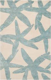 Pottery Barn Throw Rugs by Decorating Beautiful Blue Starfish Rug Braided And Charming