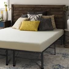Bed Frame For Memory Foam Mattress Crown Comfort 8 Inch Full Size Bed Frame And Memory Foam Mattress
